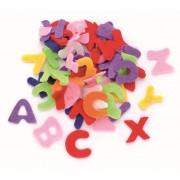 Geen Hobby vilt 150 gekleurde vilten letters 2,5 cm