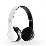 Bluetooth fejhallgató mikrofonal ,rádio fm és SD kártya ,P47 Fehér