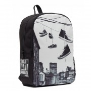 Mojo Mochila Brooklyn Hanging Shoe Backpack Polyester Tablet