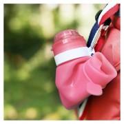 Viajes Al Aire Libre Creativo Silicona Plegable Botella De Agua Portable De La Taza, Capacidad: 600 Ml (rojo)