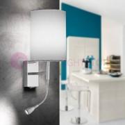 Lam Export Easy Lampada A Parete Flessibile H.55 A Led Design Moderno Con Paralume