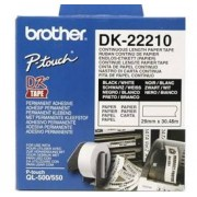 Brother DK22210 - Brother QL 500/550 Continous Paper Tape vit 29 mm