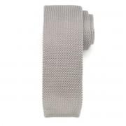 Férfi szőtt nyakkendő Willsoor 6514 -ban szürke szín