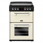 Stoves Richmond 600E Cream Ceramic Electric Cooker with Double Oven