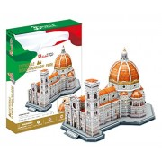 CubicFun 3D Puzzle 123 Pieces: Basilica of Saint Mary of the Flower Italy