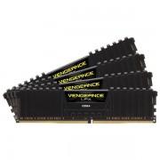 Memorii Corsair Vengeance LPX Black 64GB(4x16GB), DDR4, 2400MHz, CL16, Quad Channel