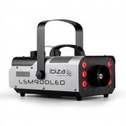 IBIZA LSM900LED машина за пушек 900W 1 литър DMX RGB LED осветление (LSM900LED)