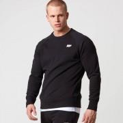 Myprotein Classic Crew Neck Sweatshirt - M - Black