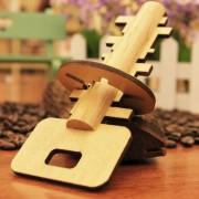 Extraible Rompecabezas De Madera Juguetes Educativos Para Niños Intelligence Toy Lock Unlock Key