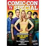 tv guide Comic con 2011 magazine Tv Guide special comic con Big bang Theory