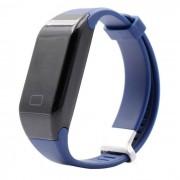 Monitor de ritmo cardiaco H3 impermeable 3ATM Bluetooth Smart Watch - Azul