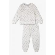 C&A Pyjama-2-delig, Wit, Maat: 158