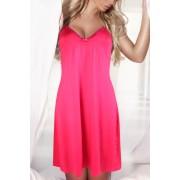 Romella lehká noční košilka 3XL růžová