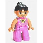 LEGO Duplo Minifigure - Female Tightrope Walker - (10504)