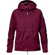 FjallRaven Keb Eco-Shell Jacket W - Plum - Vestes de Pluie L