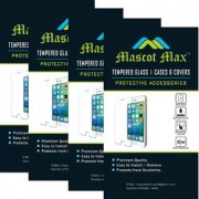 Mascot max tempered glass for Apple iphone 4S 4G tempered glass pack of 4 Combo pack