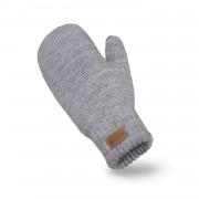 Rękawiczki damskie PaMaMi - Jasnoszary