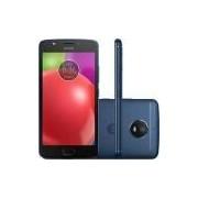 Smartphone Motorola Moto E4 Dual Chip Android 7.1.1 Nougat Tela 5 Quad-Core 1.3GHz 16GB 4G Câmera 8MP - Azul Safira