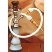 Top Mark 37 cm vízipipa — fehér