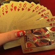 DealBindaas Gold Plated Poker Playing Cards