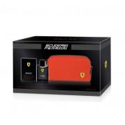 Ferrari Scuderia Ferrari Black Signature Men Gift Set EDT Spray 125ml + Toiletry Bag