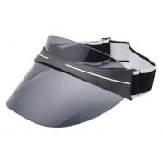 nuevas gorras para Club1 visera para yde Sol de plástico transparente parasol de PVC Sombrero LANG(#D4)