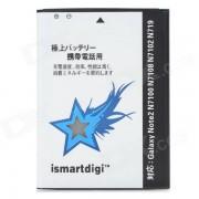 ismartdigi bateria recargable de ion de litio 3100mah para Samsung N7100 / galaxy note 2 / N7102 - blanco