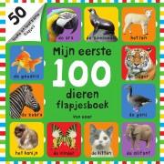 Top1Toys Boek Mijn Eerste 100 Dieren Flapjesboek