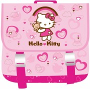 Ghiozdan patrat Hello Kitty