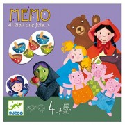 Djeco Board Game, Memo Once Upon a Time