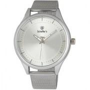 Scheffer's Silver Dial Analog Watch For Men - SC-W-S-3105
