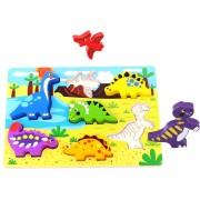 Tooky Toy Figursågat pussel med dinosaurier