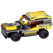 Uni Block Remote Controlled Rc Building Block Jeep Suv Compatible With Lego Bricks (Jeep 170 Pcs.)