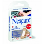 Sebtapasz, vérzéscsillapító, 30 db, 3M Nexcare Blood Stop (ME29)
