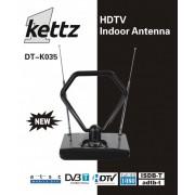 Sobna TV/FM antena Kettz DT-K035 + pojačivač