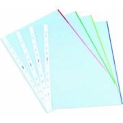 File de protectie Noki, margine color, mix culori, 25 bucati/set