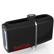 Флаш памет SanDisk Ultra Android Dual USB Drive 16GB, USB 3.0/micro-USB Interface, read speed: up to 130 MB/s, SDDD2-016G-GAM46