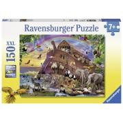 PUZZLE ARCA CU ANIMALUTE, 150 PIESE - RAVENSBURGER (RVSPC10038)