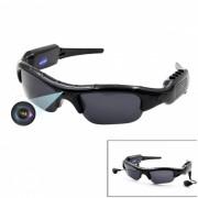 Gafas de sol de la camara MP3 HD720p DV Bluetooth MP3 Mobile Eyewear Recorder