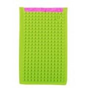 UPixel Bags - Универсален калъф за телефон голям - розово/светло зелено
