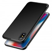 ultra Bakeey™ Ultra Thin Soft TPU Silicone With Dust Plug Case for iPhone X