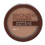 Gabriella Salvete Bronzer Powder Spf15 8G 03 Per Donna (Cosmetic)