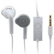 (PACK OF 2) DIFFERENT ONE High Quality Earphone for All Android iOS Smart Phones with 3.5mm Jack (White)