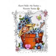 Sherri Baldy My-Besties Bloomin Besties Coloring Book: Some of Sherri Baldy's Fan Favorites Bloomin Besties Are Available as a Coloring Book ! You Get