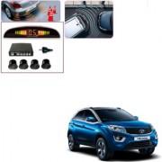 Auto Addict Car Black Reverse Parking Sensor With LED Display For Tata Nexon