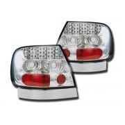 Stopuri cu LED Audi A4 Sedan B5 95-00 crom