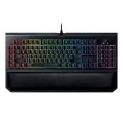Razer BlackWidow Chroma V2: Esports Gaming Keyboard - Ergonomic Wrist Rest - 5 Dedicated Macro Keys - Razer Orange Mechanical Switches (Tactile and Silent)