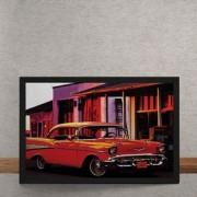 Quadro Decorativo Vintage 1950 Classico 25x35