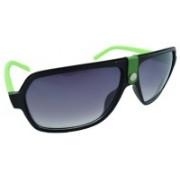 Polo House USA Retro Square Sunglasses(Blue)