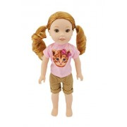 My Brittany's Kitten Outfit for Wellie Wishers Dolls